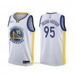 Camiseta Golden State Warriors Juan Toscano-Anderson #95 Association Blanco