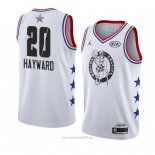 Camiseta All Star 2019 Boston Celtics Gordon Hayward #20 Blanco