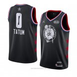Camiseta All Star 2019 Boston Celtics Jayson Tatum #0 Negro