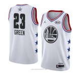 Camiseta All Star 2019 Golden State Warriors Draymond Green #23 Blanco