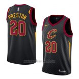 Camiseta Cleveland Cavaliers Billy Preston #20 Statement 2018 Negro