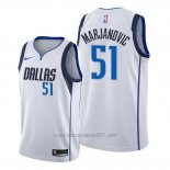 Camiseta Dallas Mavericks Boban Marjanovic #51 Association Blanco