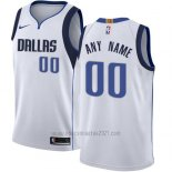 Camiseta Dallas Mavericks Personalizada 17-18 Blanco