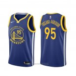 Camiseta Golden State Warriors Juan Toscano-Anderson #95 Icon Azul