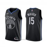 Camiseta Golden State Warriors Mychal Mulder #15 Ciudad Negro