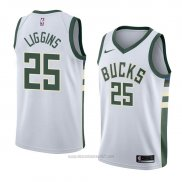 Camiseta Milwaukee Bucks Deandre Liggins #25 Association 2018 Blanco