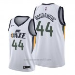 Camiseta Utah Jazz Bojan Bogdanovic #44 Association Blanco