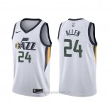 Camiseta Utah Jazz Grayson Allen #24 Association Blanco