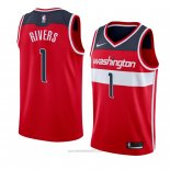 Camiseta Washington Wizards Austin Rivers #1 Icon 2018 Rojo