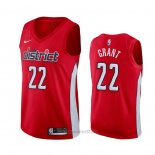 Camiseta Washington Wizards Jerian Grant #22 Earned 2020 Rojo