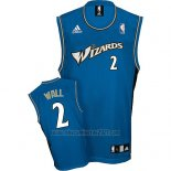 Camiseta Washington Wizards John Wall #2 Retro Azul