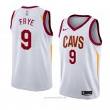 Camiseta Cleveland Cavaliers Channing Frye #9 Association 2018 Blanco