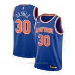 Camiseta New York Knicks Julius Randle #30 Icon 2020-21 Azul