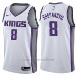 Camiseta Sacramento Kings Bogdan Bogdanovic #8 Association 2017-18 Blanco