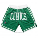 Pantalone Boston Celtics Just Don Verde