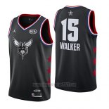Camiseta All Star 2019 Charlotte Hornets Kemba Walker #15 Negro