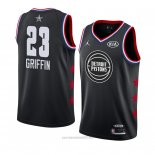 Camiseta All Star 2019 Detroit Pistons Blake Griffin #23 Negro