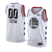 Camiseta All Star 2019 Golden State Warriors Personalizada Blanco