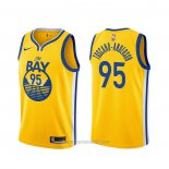 Camiseta Golden State Warriors Juan Toscano-Anderson #95 Statement Oro