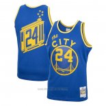 Camiseta Golden State Warriors Rick Barry #24 Mitchell & Ness 1966-67 Azul