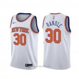 Camiseta New York Knicks Julius Randle #30 Association Blanco