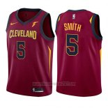 Camiseta Nino Cleveland Cavaliers J.r. Smith #5 Icon 2017-18 Rojo