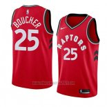 Camiseta Toronto Raptors Chris Boucher #25 Icon 2018 Rojo