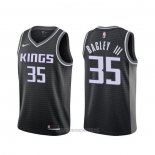 Camiseta Sacramento Kings Marvin Bagley III #35 Statement Negro