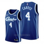 Camiseta Los Angeles Lakers Alex Caruso #4 Classic Edition 2019-20 Azul