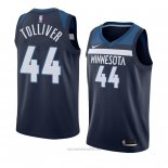 Camiseta Minnesota Timberwolves Anthony Tolliver #44 Icon 2018 Azul