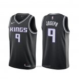 Camiseta Sacramento Kings Cory Joseph #9 Statement 2019-20 Negro